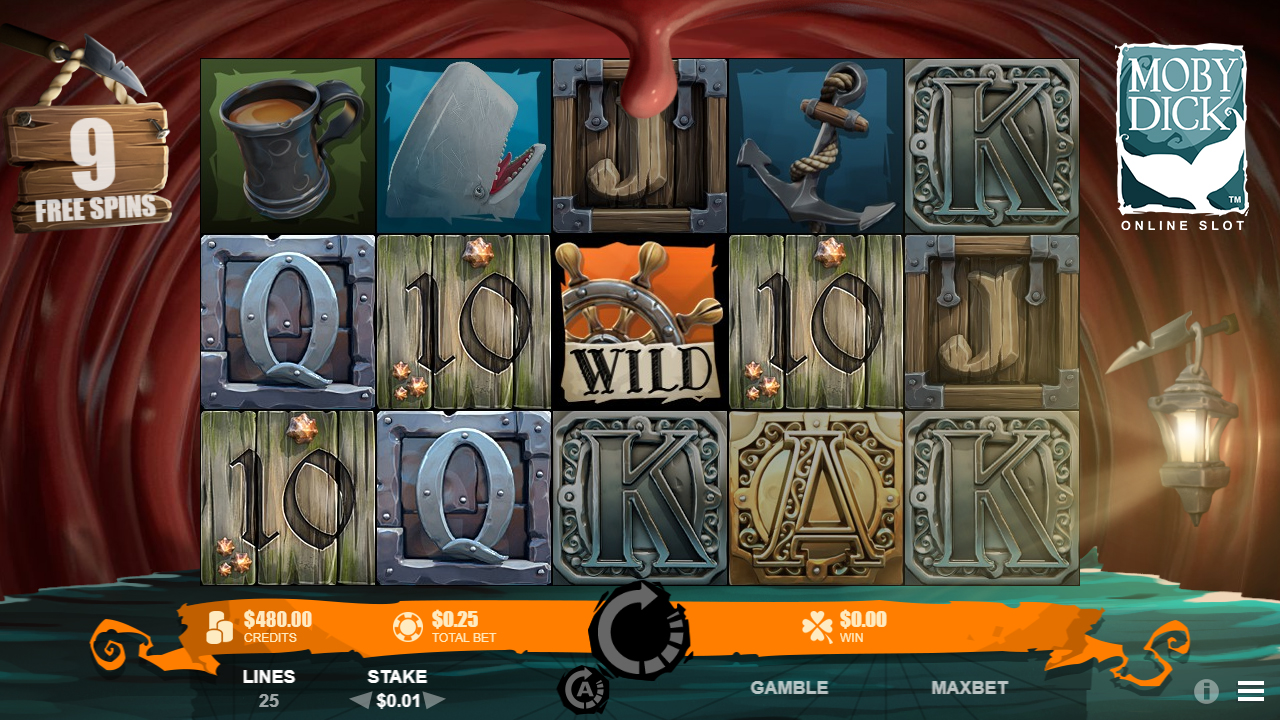 MOBY DICK™ video slot free spins screenshot